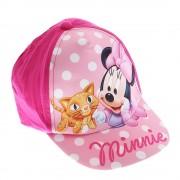 Детска шапка Minnie Mouse Cat цикламена