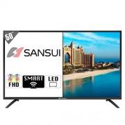 SANSUI Pantalla DE 50 Pulgadas SMX5019USM Smart TV LED Ultra HD 4K con Android Y MPEG4 para MAS Canales