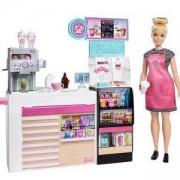 Кукла Barbie - Игрален комплект за приготвяне на кафе, 1710199