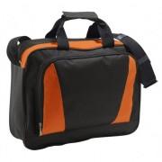 Sols Oranje/zwarte laptop tas