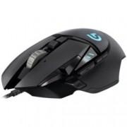 Мишка Logitech G502 Proteus Spectrum, оптична (12000 dpi), USB, черна, 11 програмируеми бутонa, пpoгpaмиpyeмa RGВ пoдcвeтĸa