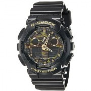 G-Shock World time Analog-Digital Multi-Colour Dial Men's Watch - GA-100CF-1A9DR (G519)