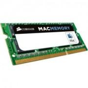 RAM Памет Corsair DDR3, 1333MHz 4GB 1x204 SODIMM, Apple Qualified 1.5V, Unbuffered - CMSA4GX3M1A1333C9