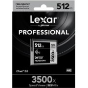 Lexar 3500X 512 GB Compact Flash Class 10 525 MB/s Memory Card