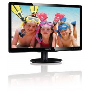 "Philips V-line 200V4LAB2 - Monitor LED - 20"" (19.5"" visível) - 1600 x 900 - 200 cd/m² - 600:1 - 5 ms - DVI-D, VGA - altifalante"