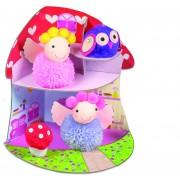 Set creativ Fairy Pompom House, 5 ani+