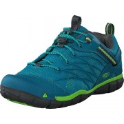 Keen Chandler Cnx Tahitian Tide/bright Green, Skor, Sneakers & Sportskor, Walkingskor, Turkos, Barn, 32