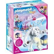 Playmobil Magic 9473 - Troll Delle Nevi Con Slitta