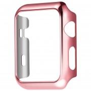 Louiwill [ACTUALIZAR] Kobwa Apple Watch Case 38 Mm, Resistente A La Caída De La Cubierta Resistente Al Desgaste Resistente A Los Arañazos De Todas Las Versiones 38 Mm Apple Watch Series 2- Pink Gold