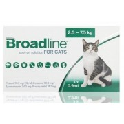 Broadline Spot-On Solution for Cats (Large) 2.5-7.5kg, 3 Pack