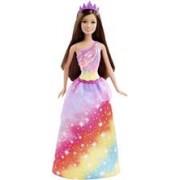 Papusa Barbie Fairy Rainbow Fashion Brown Hair