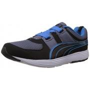 Puma Men's Descendant Alt DP Black-Grey-Frenchblue Running Shoes - 11 UK /India(46EU)