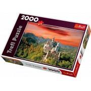Puzzle Trefl Castelul Neuschwanstein - Bavaria 2000 buc