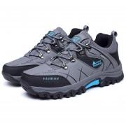 EB YT Exterior585170 Lace-up Botas De Montaña Deporte Zapatos De Hombre Para Acampar Escalada Gris - Gris