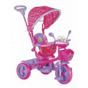 Tricikl za decu Play pink - zvučni i svetlostni efekti ( 016 )