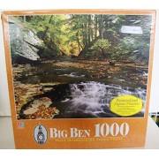 Vintage Big Ben 1000 Jigsaw Puzzle Brandywine Creek Summit County Ohio OH