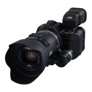 JVC »GC-PX100« Camcorder (Full HD, WLAN (Wi-Fi), 10x opt. Zoom, iFrame-Videomodus, Ultra High-Speed-Videoaufnahme 100fps - 500fps (Extrem-Zeitlupe)