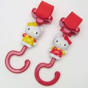 Hello Kitty Hook for Stroller Baby Carriage Baby Buggy