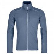 Ortovox Fleece Light Grid Jacket Giacca in pile (XL, blu/grigio)