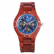 Bedate Chronograph Bamboo Rose Wood Watch