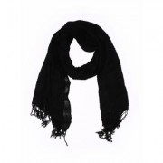 Accessory Street Scarf: Black Solid Accessories
