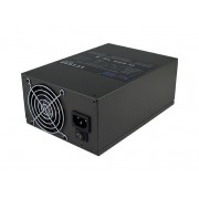 LC Power LC1650 1650W V2.31 Bulk 2x80mm Fan APFC 16xPCIe 8xSATA Black