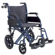 sedia a rotelle / carrozzina pieghevole go up da transito doppia croci
