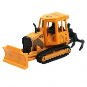 Happy Cherry Crawler Excavator Diecast Cement Mixer Truck Construction Vehicle Transport Car Carrier Truck Toy Model Cars For Boys Girls