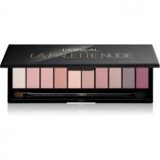 L'Oréal Paris Color Riche La Palette Nude paleta de sombras de ojos con espejo y aplicador tono 01 Rosé 7 g