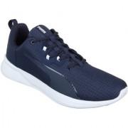 Puma Men'S Tishatsu Runner Peacoat-Puma White White Sports Shoe