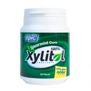 XYLITOL GUM (Spearmint) 50 Pieces