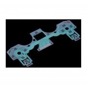 ER Conductiva Cine Teclado Reparación De Parte Para PlayStation 4 Para El Regulador PS4 Verde.