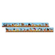 Melissa & Doug Alphabet Train Jumbo Jigsaw Floor Puzzle - Letters and Animals (28 Pcs, 3 Meters Long)