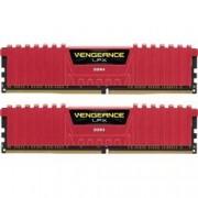 CORSAIR DDR4 2400MHZ 16GB 2 X 288 DIMM RED