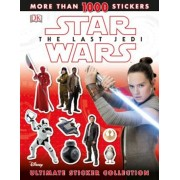 Star Wars the Last Jedi Ultimate Sticker Collection, Paperback