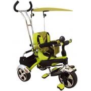 Tricicleta multifunctionala Happy Days - verde