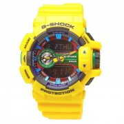 Casio genuino G-SHOCK STANDARD ANALOG-DIGITAL (GA-400-9AER)-amarillo