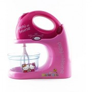 SHRIBOSSJI Hello Kitty Battery Operated Grinder Mixer Kitchen Pretend Play Set