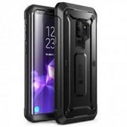 Carcasa 360 grade Supcase Unicorn Beetle Pro Samsung Galaxy S9 Plus cu protectie display Negru