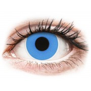 ColourVUE Crazy Lens Sky Blue - dioptria nélkül (2 db lencse)