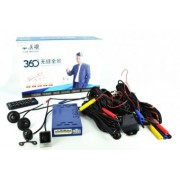 Sistem de parcare profesional cu 4 camere video - 360 grade FHD cu functie de inregistrare