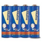 Комплект 4 броя алкални батерии AA 1.5V Golden Power