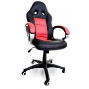 Fotel biurowy RACER czarno-czerwony