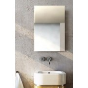 Polished Edge Plain Mirror. 45x60cm
