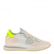 Philippe Model sneakers Tropez mondial glitter wit