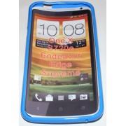 Силиконов гръб ТПУ за HTC One X Син