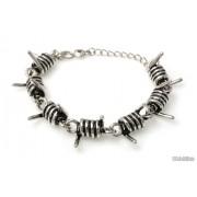 Jubileo.pl BRANSOLETKA KOLCZASTA kolor stare srebro metal