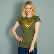 T-shirt 'Superman' en sequins réversibles