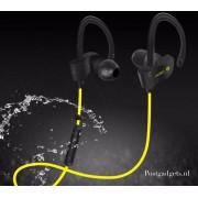 geel /Bluetooth 4.1 In-ear Oortje /Draadloze Koptelefoon / Wireless Headset / Oordopjes / Oortjes / Hoofdtelefoon / Oortelefoon / In ear Headphones / Headphone / Draadloos / Sport Headsets / Muziek / Earphones / over on-ear