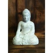 Fehér Buddha szobor